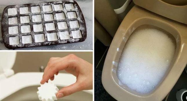 WC pulito e igienizzato