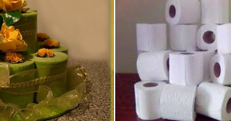 Rotoli Di Carta Igienica : Ecco come realizzare una geniale torta di compleanno riciclando