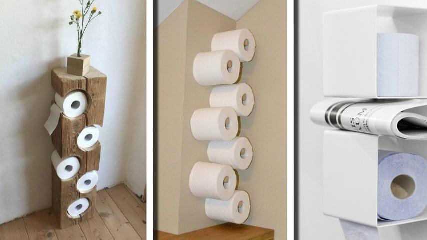 Mobiletto Porta Carta Igienica.Ecco 15 Idee Strepitose Per Sistemare La Carta Igienica In