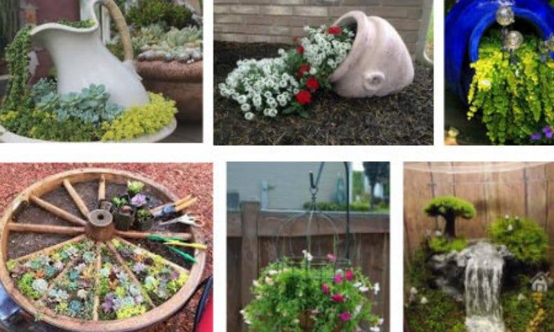 Decorazione Vasi Da Giardino : Idee originali per giardini