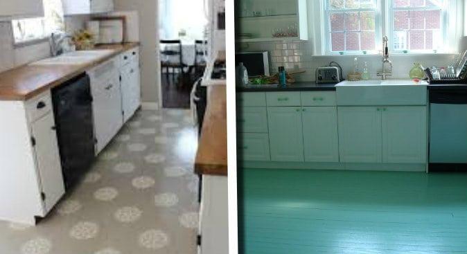 Vuoi rinnovare i tuoi pavimenti in cucina senza spendere tanto ...